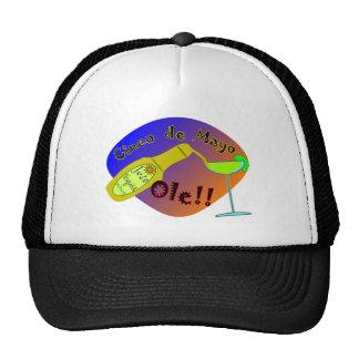 "Cinco de Mayo  ""OLE"" Tequila T-Shirts Trucker Hat"