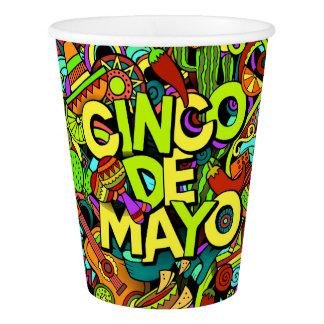 Cinco de Mayo Party Goods Paper Cups