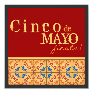 Cinco de Mayo Party! Happy Fiesta Invitation