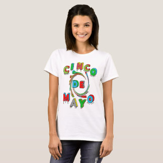 CINCO DE MAYO T SHIRT - PRINTS AND COLORS