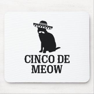 Cinco De Meow Mouse Pad
