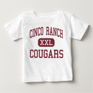 Cinco Ranch - Cougars - High School - Katy Texas Baby T-Shirt
