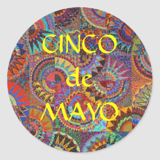 CincoDeMayo Classic Round Sticker