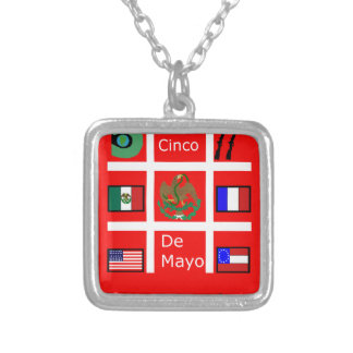 #CincoDeMayo Silver Plated Necklace