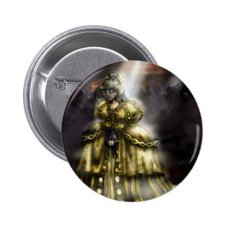 Cinder Girl 2 Inch Round Button