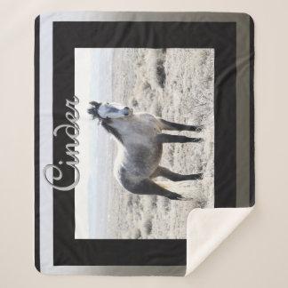 Cinder Sherpa Blanket