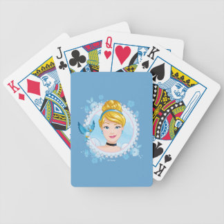 Cinderella And Blue Bird Bicycle Playing Cards
