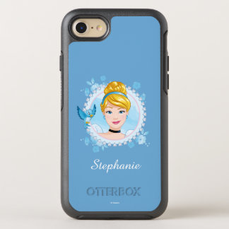 Cinderella And Blue Bird OtterBox Symmetry iPhone 8/7 Case