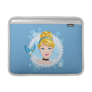 Cinderella And Blue Bird Sleeve For MacBook Air