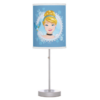 Cinderella And Blue Bird Table Lamps