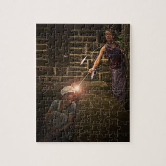 Cinderella and Fairy Godmother Fairytale Puzzle