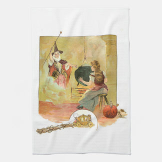 Cinderella And Her Fairy God Mother Kitchen Towel