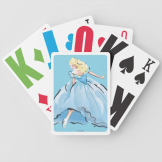 Cinderella And Her Glass Shoe Bicycle Playing Cards