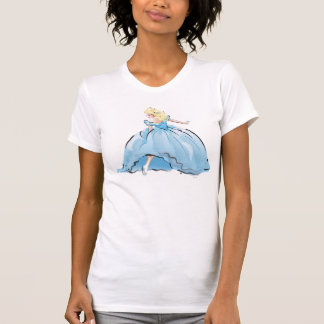 Cinderella And Her Glass Shoe T-Shirt