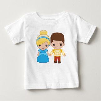 Cinderella and Prince Charming Emoji 2 Baby T-Shirt