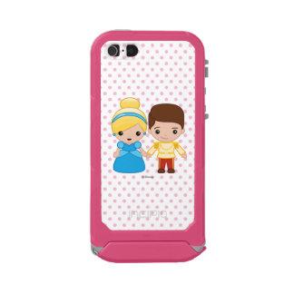 Cinderella and Prince Charming Emoji Incipio ATLAS ID™ iPhone 5 Case