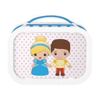 Cinderella and Prince Charming Emoji Lunch Box