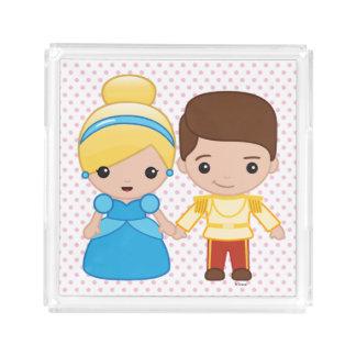 Cinderella and Prince Charming Emoji Perfume Tray