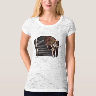 Cinderella and the Mice Nouveau Tee Shirts