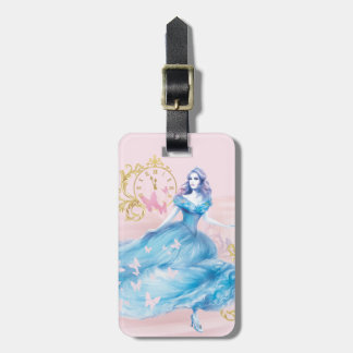 Cinderella Approaching Midnight Bag Tag