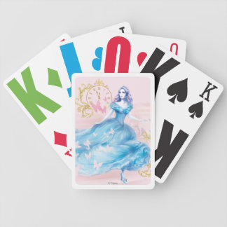 Cinderella Approaching Midnight Bicycle Playing Cards