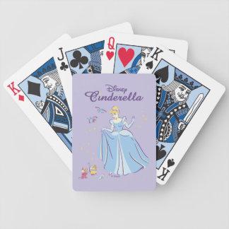 Cinderella | Bibbidi, Bobbidi, Boo Bicycle Playing Cards