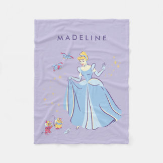 Cinderella | Bibbidi, Bobbidi, Boo Fleece Blanket