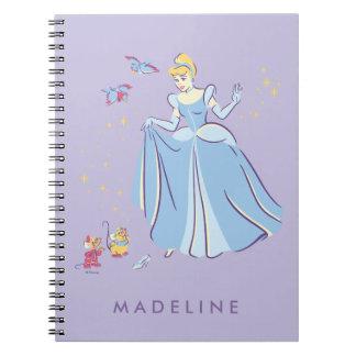 Cinderella | Bibbidi, Bobbidi, Boo Notebooks