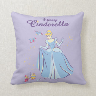 Cinderella | Bibbidi, Bobbidi, Boo Throw Pillow