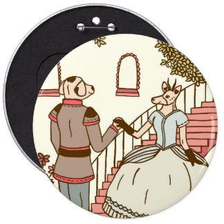 Cinderella Pinback Button