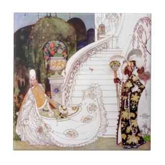 Cinderella by Kay Nielsen Tile
