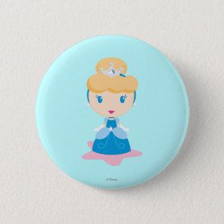 Cinderella Cartoon 2 Inch Round Button