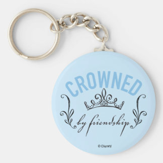 Cinderella | Crowned By Friendship Basic Round Button Keychain