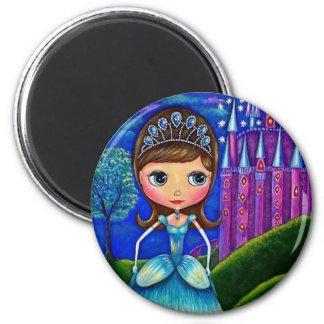 Cinderella Doll Magnet