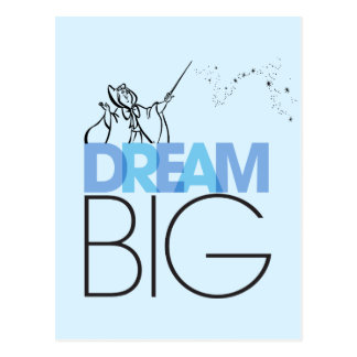 Cinderella   Dream Big Postcard