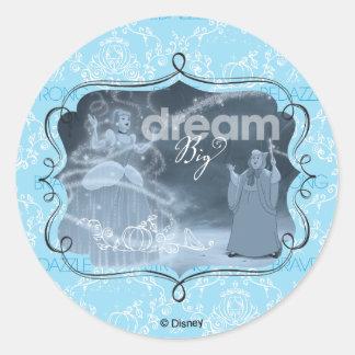 Cinderella | Dream It, Then Do It Classic Round Sticker