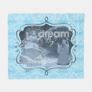 Cinderella | Dream It, Then Do It Fleece Blanket