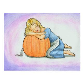 Cinderella Dreaming Postcard