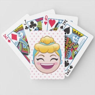 Cinderella Emoji | Cinderella - Happy Bicycle Playing Cards