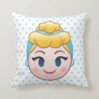 Cinderella Emoji | Cinderella Throw Pillow