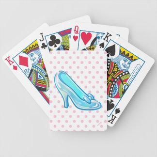 Cinderella Emoji | Glass Slipper Poker Deck