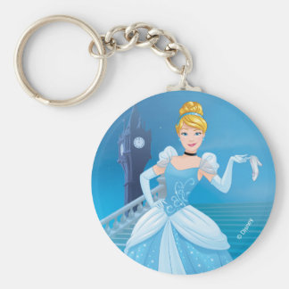 Cinderella | Express Yourself Basic Round Button Keychain