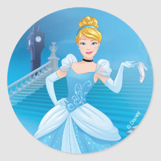 Cinderella | Express Yourself Classic Round Sticker