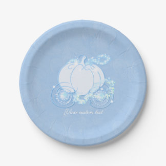 Cinderella Fairytale Carriage Blue Party Plates  sc 1 st  Zazzle CA & Cinderella Plates | Zazzle.ca