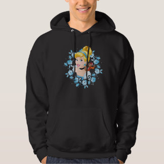 Cinderella | Flower Frame And Mice Hoodie