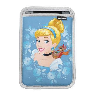 Cinderella | Flower Frame And Mice iPad Mini Sleeve