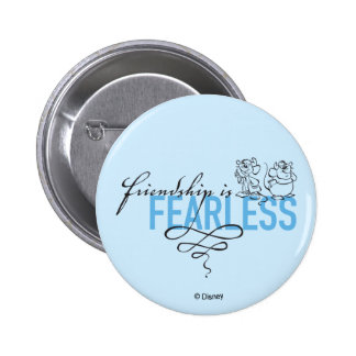 Cinderella | Friendship Is Fearless 2 Inch Round Button