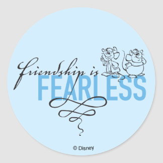Cinderella | Friendship Is Fearless Classic Round Sticker
