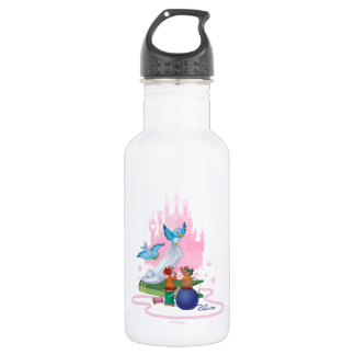 Cinderella | Glass Slipper And Mice 532 Ml Water Bottle