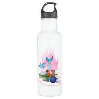 Cinderella | Glass Slipper And Mice 710 Ml Water Bottle